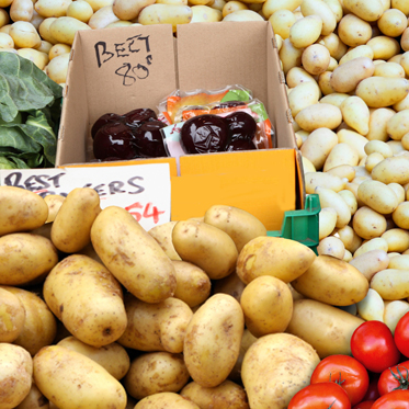 Love Potatoes Website design