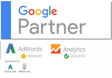 BE Different is a Google Partner. Adwords Certified & Analytics Qualified