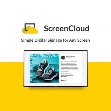 ScreenCloud Digital Signage